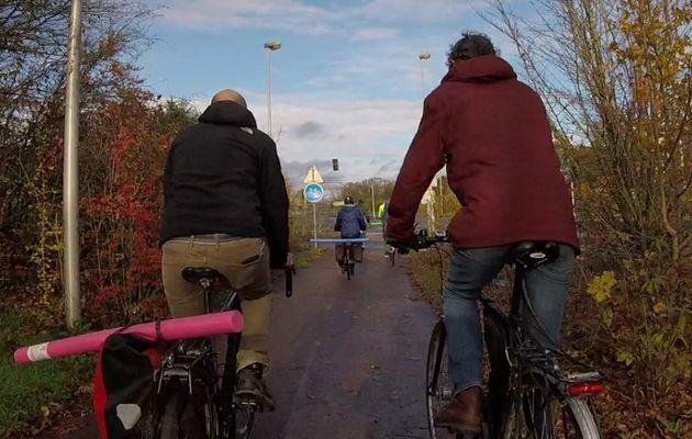 Des vélos et des frites!