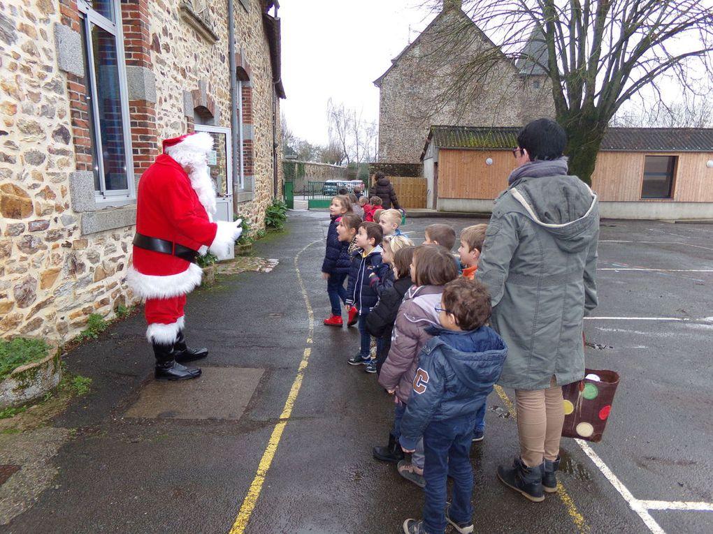 Séance ciné et venue du Père Noël à Bréal-sous-Vitré