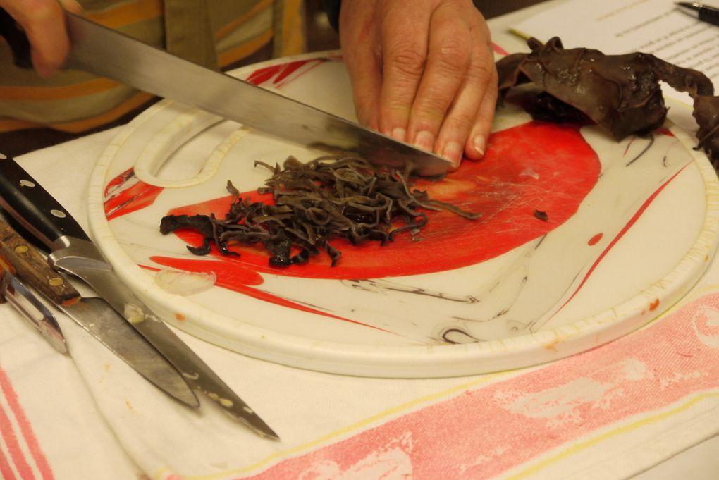 le canard aux pousses de bambous: une cuisine tout en finesse...