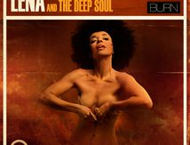 "Artwork album Lena & The Deep Soul ""Burn"""