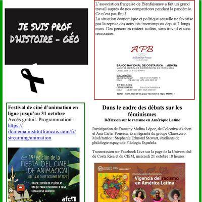 Bulletin informatif numéro 145
