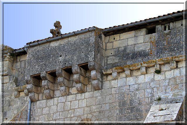 Diaporama église fortifiée de Saint Gervais