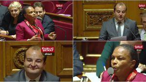 Quand Christiane Taubira explose le sénateur Fn Rachline