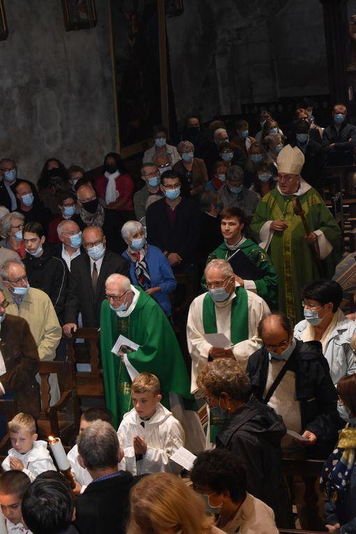Messe d'installation du Père Gautier Terral