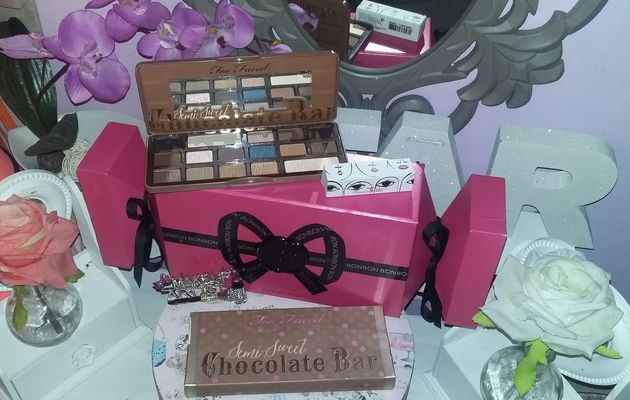 Too Faced semi -sweet chocolate Bar : une palette craquante