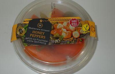 Aldi W Honey Peppers mit Frischkäsecreme Senf-Honig