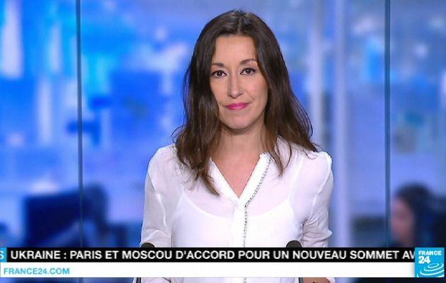 📸7 SANDRINE GOMES @FRANCE24 @France24_fr cette nuit pour LE JOURNAL #vuesalatele