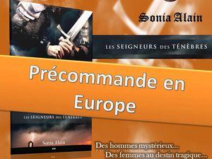"""Le tome 4 de """"Les gardiens des portes"""" et le tome 3 de """"La dame de Knox"""" sont désormais en prévente en Europe   Sortie prévue pour l'Europe le 12 février 2018"""
