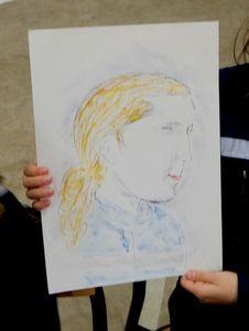 Portrait d'une jeune sapeur-pompier