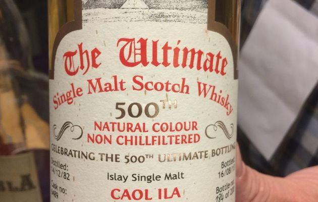 Caol Ila 1982 'Van Wees The 500th Ultimate Bottling'