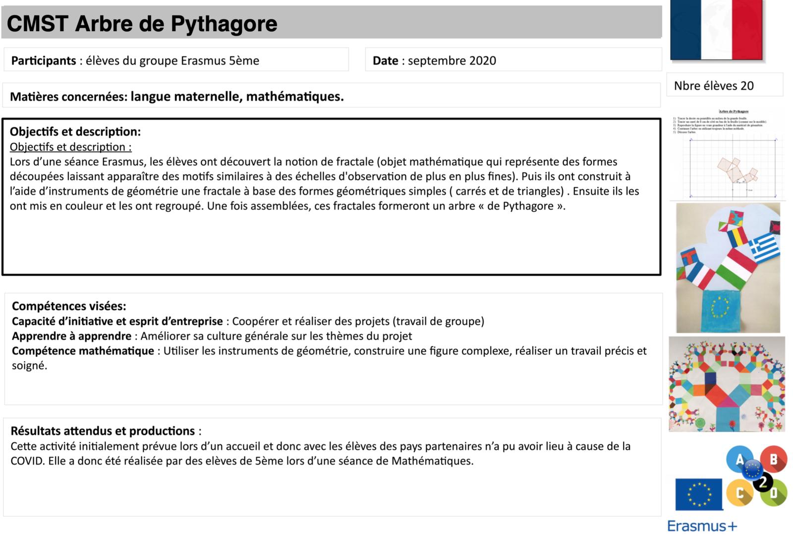 CMST Arbre de Pythagore