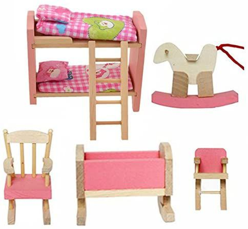chambre enfant maison de poupée