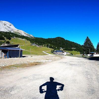 La station de Gourette (64) en Fat Bike à assistance électrique...