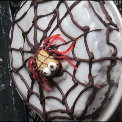 Gâteau toile d'araignée