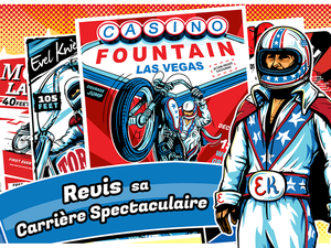 Barnstorm Annonce Evel Knievel