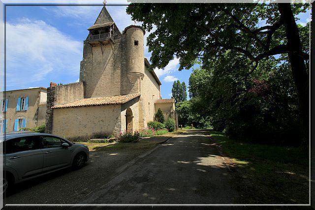 Diaporama église fortifiée de Gans