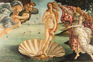 La naissance de Venus par Sandro Botticelli