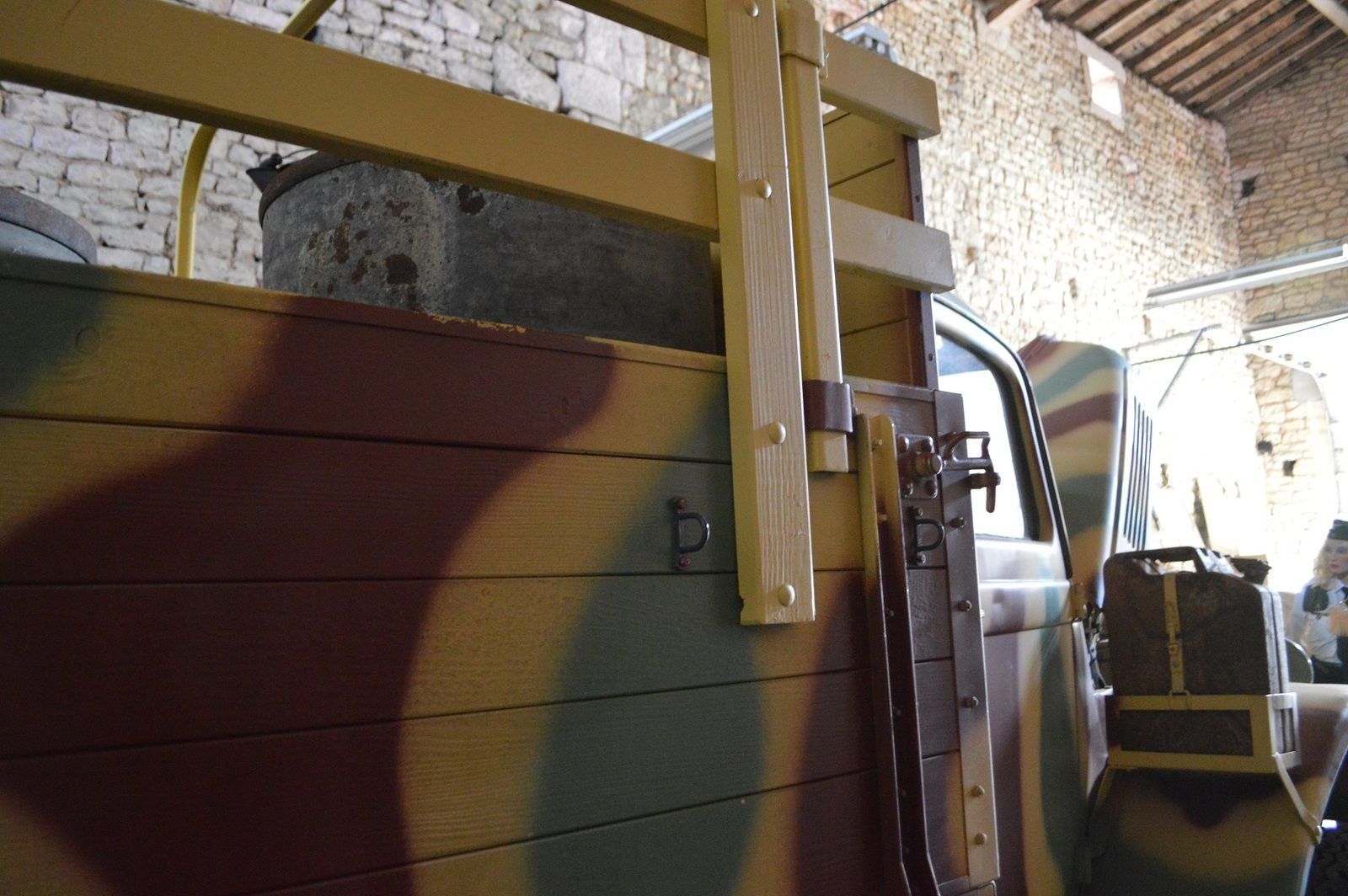 crédit photos Alain Chaussade  : ridelles et rehausses arceaux de caisse