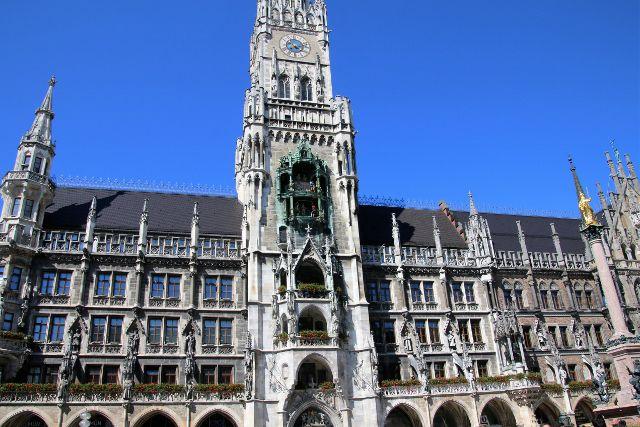 133 Munich hôtel de ville - Allemagne