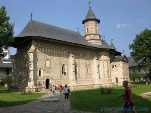 Monastère de Neamt, Roumanie en camping-car