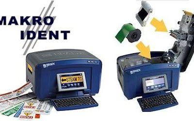 Brady Mehrfarbdrucker für Sicherheits- und Gebäudekennzeichnung