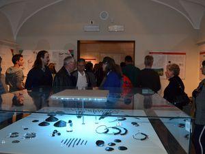 Moriez  : Inauguration de l'expo trésors des Alpes en Italie