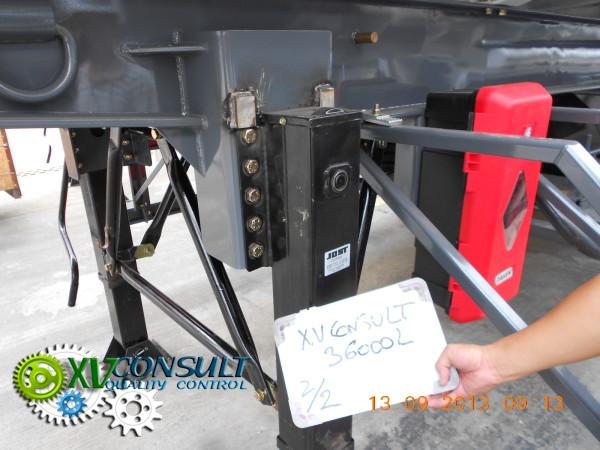 Semi remorques citernes  36000 L Boggie et 3 essieux  . Fuel semi trailers 36000 L Boggie  and 3 Axles .: info@xvconsult.com
