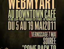 Exposition au Downtown Café - mai2011