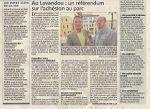 Référendum du 22 mai 2011 au Lavandou