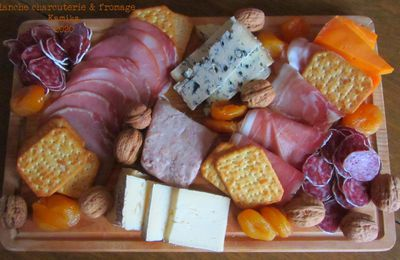 PLANCHE CHARCUTERIE & FROMAGE
