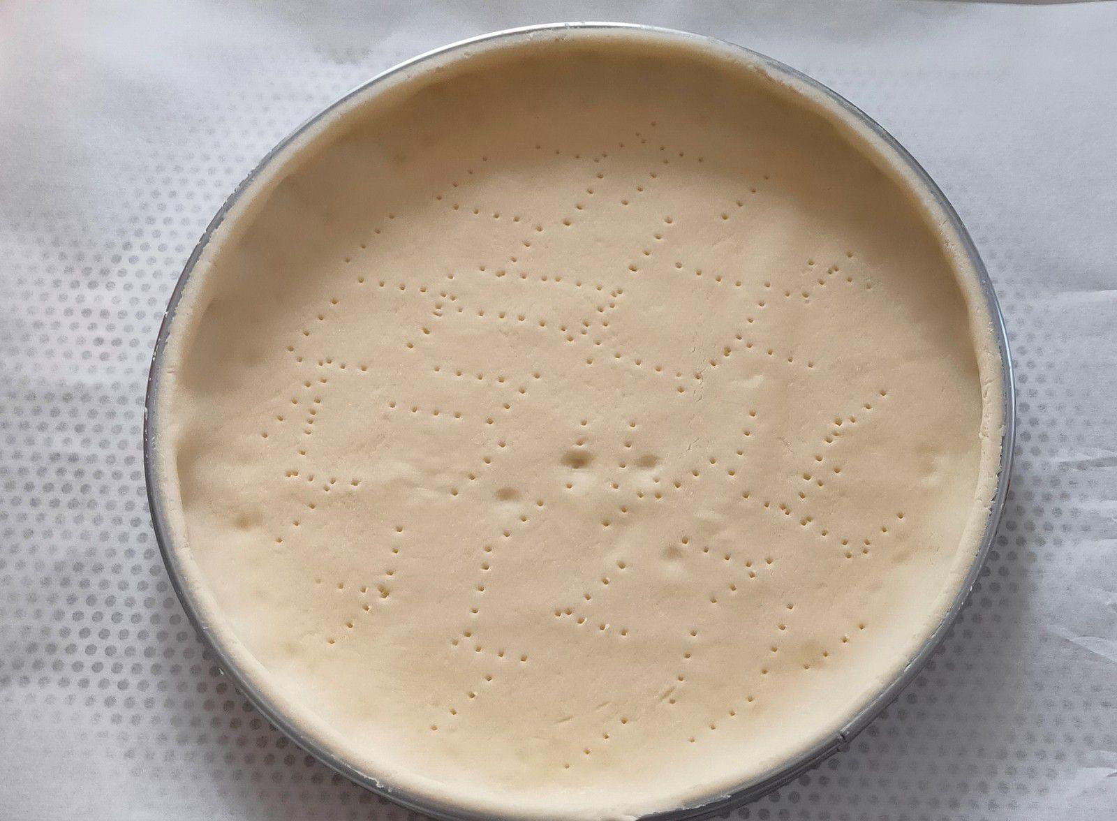 Tarte Bourdaloue à la pralinoise