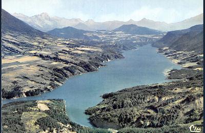 Les passerelles du lac Monteynard