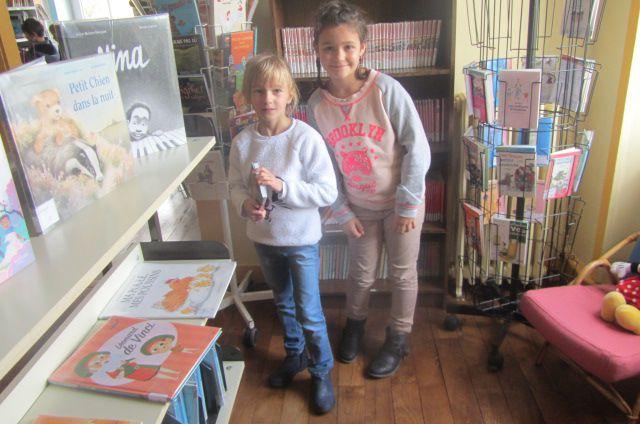 Retour à la bibliothèque pour les élèves de CE2