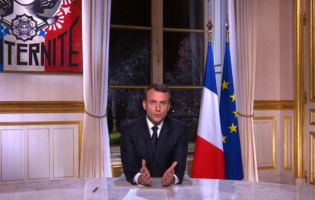Audiences : 11 millions de téléspectateurs pour les voeux d'Emmanuel Macron