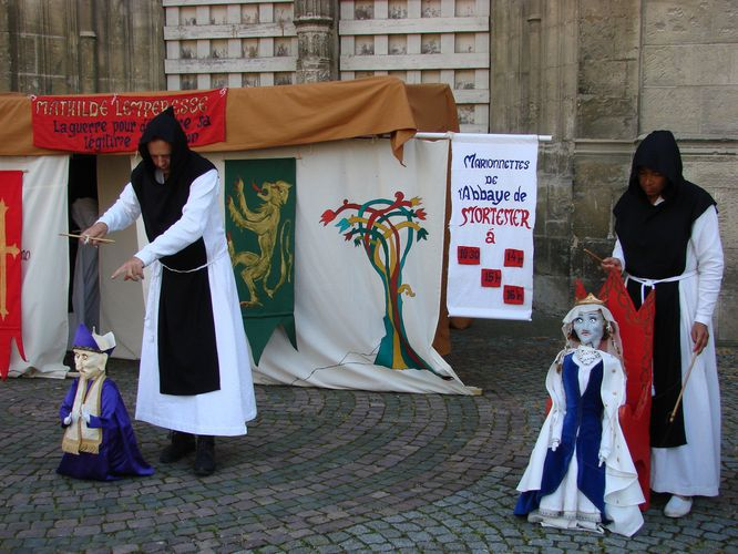 Images souvenirs des fêtes médiévales de Gisors et Marville 2010