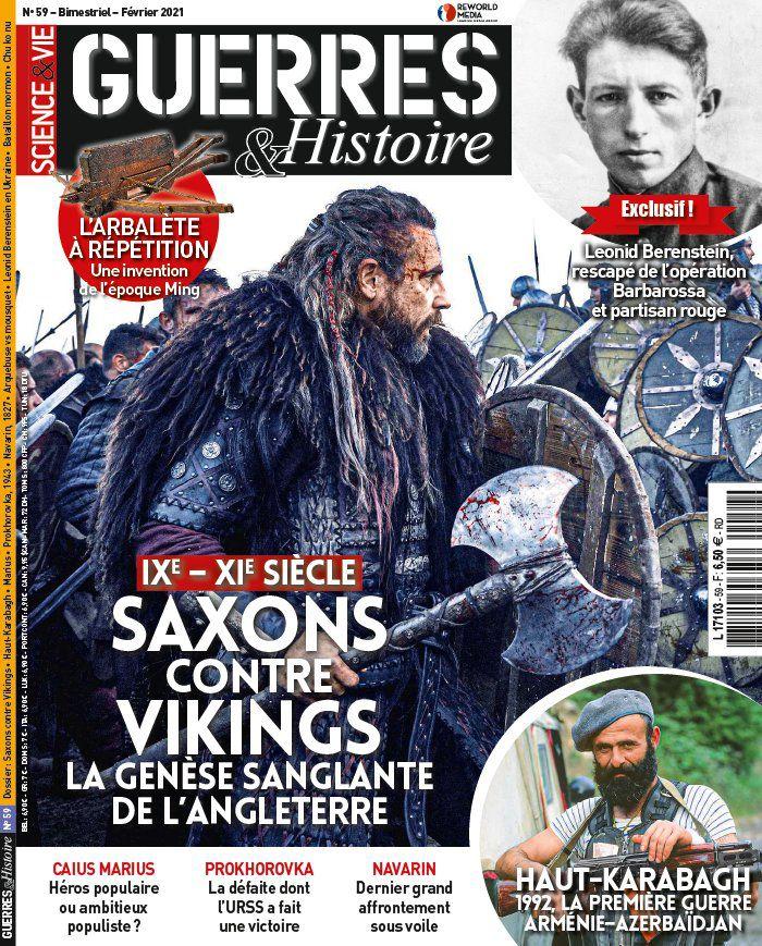 A la une de Guerres & Histoire n°59