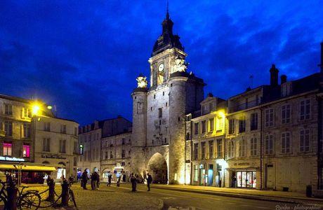 La Rochelle by night -  Avril 2016