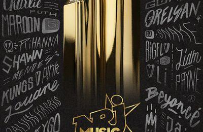 La 20ème édition des NRJ Music Awards diffusée en direct ce soir sur TF1 et NRJ (liste des nommés)