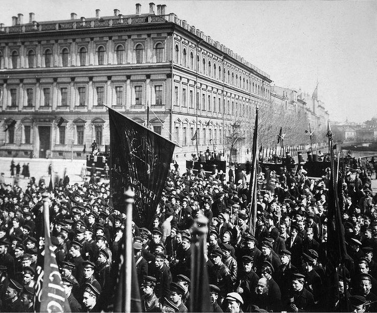 Images de la Révolution d'Octobre glanées sur Internet - Quand les masses font l'Histoire ...