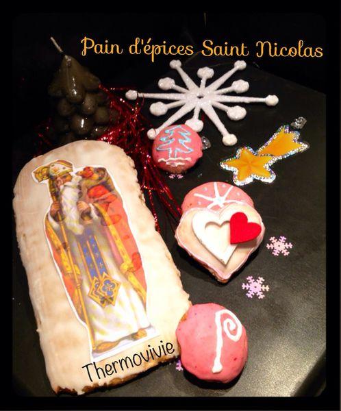 Pain d'épices pour la Saint Nicolas