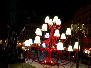 Les lumières de Lyon en camping-car