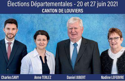 ÉLECTIONS DÉPARTEMENTALES : CANTON DE LOUVIERS