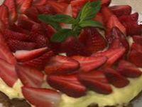 Menu de Fares Djidi - Artichauts au fromage + Gratin de pomme de terre au saumon + Tarte aux fraises