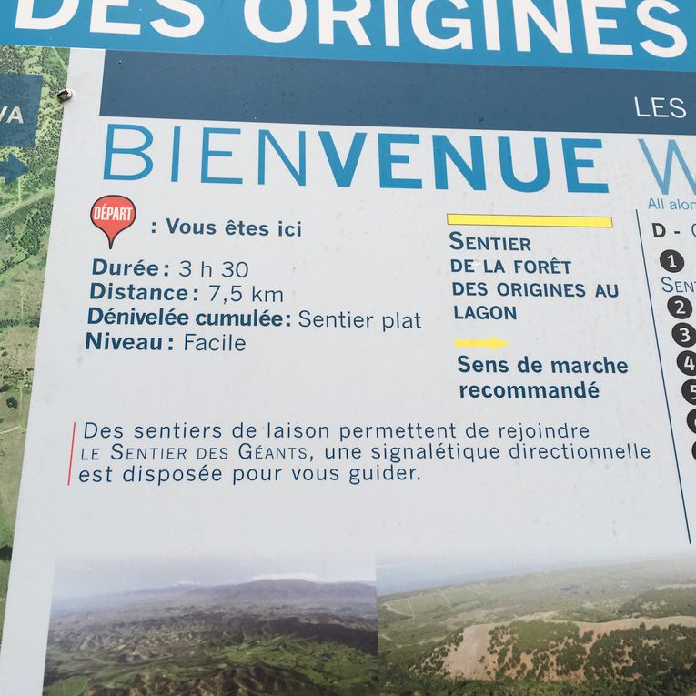 Descriptif du sentier