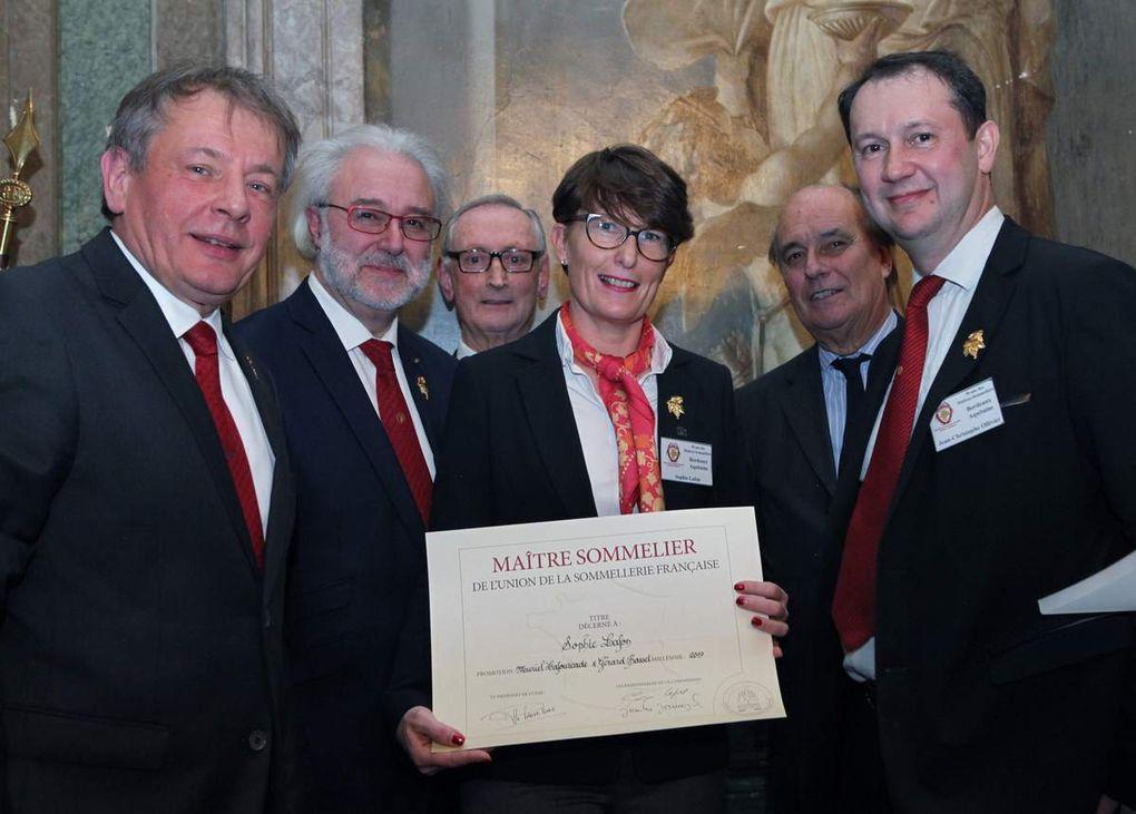La famille des maîtres sommeliers de l'UDSF grandit à Bordeaux