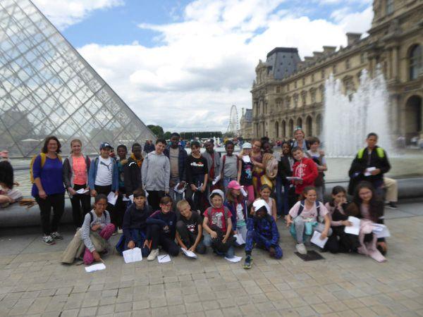 Jeu de piste au Jardin des Tuileries (avec commentaires)