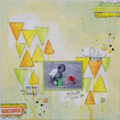 Eléa à Champcol - Pop and Colours