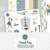 MPC-FRK-COL : COLLECTION DE PAPIERS - FRENCH KISS Fée du Scrap