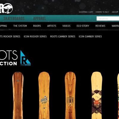 Arbor Snowboards 2014 available