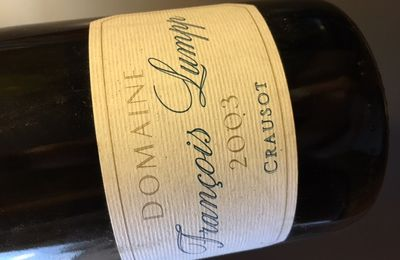 Givry 1er cru Crausot 2003 Domaine Vincent Lumpp